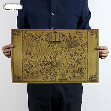 Fantasy Wall Tarrat Lentokone-seinätarrat Koriste-seinätarrat, Paperi Kodinsisustus Seinätarra Seinä