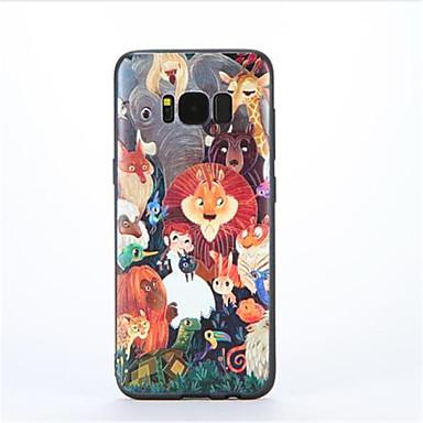 Για Με σχέδια tok Πίσω Κάλυμμα tok Κινούμενα σχέδια Μαλακή TPU για Samsung S8