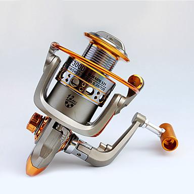 Fishing Reels بكرة دوارة 5.2:1 12 الكرة كراسى أيمن الصيد العام-GF5000