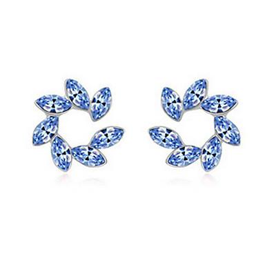 Naisten Niittikorvakorut Kristalli minimalistisesta Kukka Personoitu Euramerican Korut Käyttötarkoitus Häät Party Syntymäpäivä