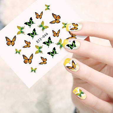 10pcs/set Nail Art tarra Vesi Siirto Tarra meikki Kosmeettiset Nail Art Design