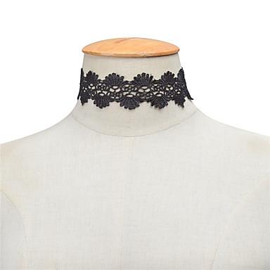 Pentru femei Șuviță unică Personalizat Modă Euramerican Coliere Choker Bijuterii Dantelă Coliere Choker . Petrecere Zilnic Casual