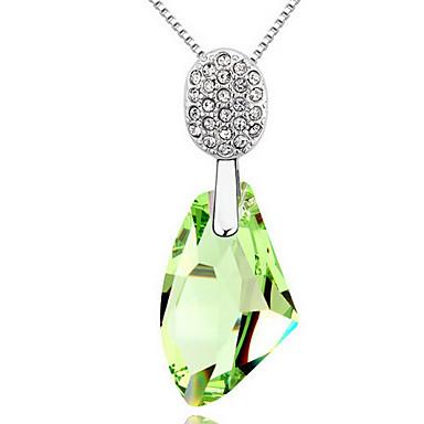 Kadın's Uçlu Kolyeler Mücevher Geometric Shape sevimli Stil Mücevher Uyumluluk Özel Anlar