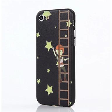 Varten Iskunkestävä Etui Takakuori Etui Piirros Kova PC varten AppleiPhone 7 Plus iPhone 7 iPhone 6s Plus iPhone 6 Plus iPhone 6s iPhone