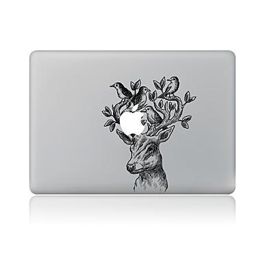 1 τμχ Αυτοκόλλητο Καλύμματος για Προστασία από Γρατζουνιές Ζώο Μοτίβο PVC MacBook Pro 15'' with Retina MacBook Pro 15 '' MacBook Pro 13''