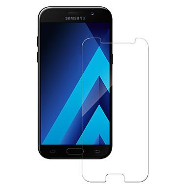 حامي الشاشة Samsung Galaxy إلى A5 (2017) زجاج مقسي 1 قطعة حامي شاشة أمامي 9Hقسوة 2.5Dحافة منعظفة