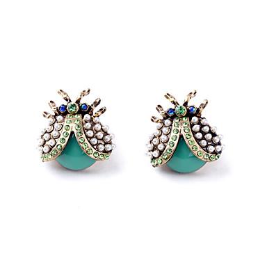 Pentru femei Cercei Stud Cristal Design Animal La modă Personalizat Euramerican Bijuterii Pentru Nuntă Petrecere Zi de Naștere