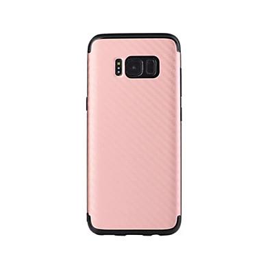 Pouzdro Uyumluluk Samsung Galaxy S8 Plus S8 Süslü Arka Kılıf Tek Renk Yumuşak TPU için S8 S8 Plus