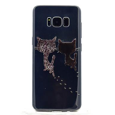 Kılıf Na Samsung Galaxy S8 Plus S8 Przezroczyste Wzór Etui na tył Kot Miękkie TPU na S8 S8 Plus