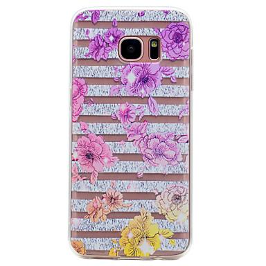 غطاء من أجل Samsung Galaxy S8 Plus S8 شفاف نموذج غطاء خلفي زهور ناعم TPU إلى S8 S8 Plus S7 edge S7 S6 edge S6 S5 Mini S5