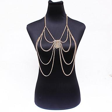 Γυναικεία Κοσμήματα Σώματος Body Αλυσίδα / κοιλιά Αλυσίδα Φύση Μοντέρνα Βοημία Style Κρύσταλλο Κράμα Κοσμήματα Για Ειδική Περίσταση Causal