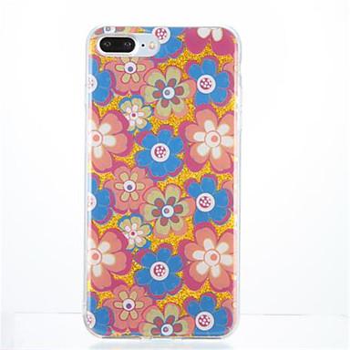 Pentru Model Maska Carcasă Spate Maska Floare Moale TPU pentru Apple iPhone 7 Plus iPhone 7