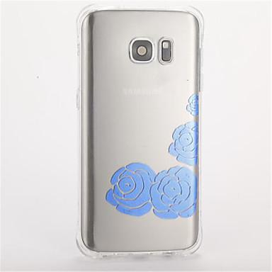 Kılıf Na Samsung Galaxy S7 edge S7 Odporne na wstrząsy Wzór Etui na tył Kwiaty Miękkie TPU na S7 edge S7 S6 S5