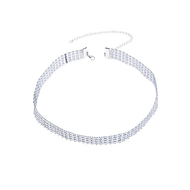 Γυναικεία Κοσμήματα Σώματος Body Αλυσίδα / κοιλιά Αλυσίδα Στρας Ασημί Geometric Shape Μοντέρνα Κοστούμια Κοσμήματα Για Causal Καλοκαίρι
