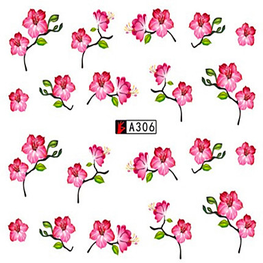 10pcs/set Nail Art autocolant Decals de transfer de apă machiaj cosmetice Nail Art Design