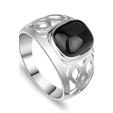 Ανδρικά Δαχτυλίδι Μοναδικό Μοντέρνα Εξατομικευόμενο Euramerican μινιμαλιστικό στυλ Βρετανικό Κοσμήματα Κοσμήματα Για Γενέθλια Καθημερινά