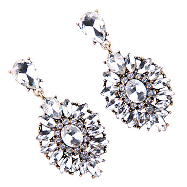 Kadın's Vidali Küpeler Mücevher Moda Bohemia Stili Euramerican Değerli Taş Mücevher Mücevher Uyumluluk Düğün Parti Özel Anlar