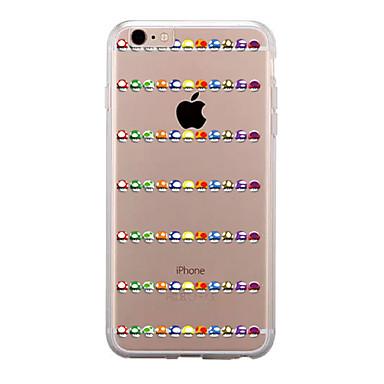 غطاء من أجل Apple iPhone 7 Plus / iPhone 7 شفاف / نموذج غطاء خلفي كارتون ناعم TPU إلى iPhone 7 Plus / iPhone 7 / iPhone 6s Plus