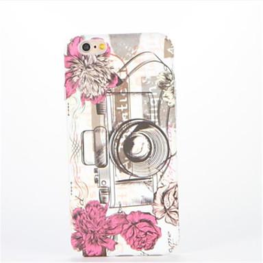 Için Süslü Temalı Pouzdro Arka Kılıf Pouzdro Çiçek Sert PC için AppleiPhone 7 Plus iPhone 7 iPhone 6s Plus iPhone 6 Plus iPhone 6s iphone