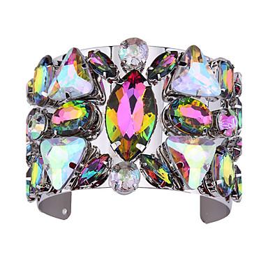 Γυναικεία Χειροπέδες Βραχιόλια Κοσμήματα Μοντέρνα Πεπαλαιωμένο Πανκ Στυλ Συνθετικοί πολύτιμοι λίθοι Κράμα Geometric Shape Κοσμήματα Για