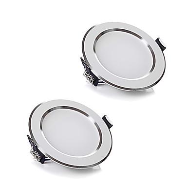 ZDM® 5W 400-500LMlm 10 Diody LED Oświetlenie downlight LED Ciepła biel Zimna biel AC220