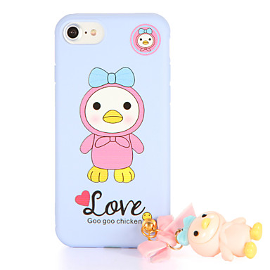 Na Wzór DIY Kılıf Etui na tył Kılıf Kreskówka 3D Miękkie TPU na AppleiPhone 7 Plus iPhone 7 iPhone 6s Plus iPhone 6 Plus iPhone 6s iphone