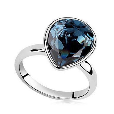 Erkek Kadın's İfadeli Yüzükler Mücevher Kişiselleştirilmiş Temel Euramerican Sentetik Taşlar Mücevher Mücevher Uyumluluk Parti Özel Anlar
