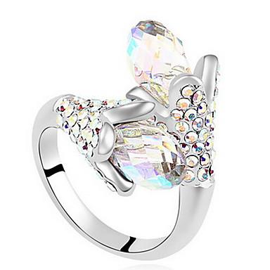 Damskie Duże pierścionki Biżuteria Klasyczny euroamerykańskiej Syntetyczne kamienie szlachetne Biżuteria Biżuteria Na Impreza Specjalne