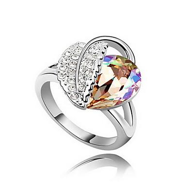 Damskie Pierscionek Biżuteria Spersonalizowane Podstawowy euroamerykańskiej Syntetyczne kamienie szlachetne Inne Biżuteria Impreza