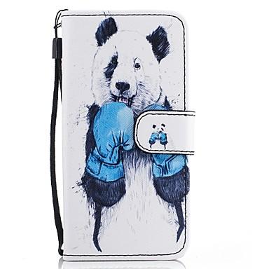 غطاء من أجل Samsung Galaxy A5(2017) A3(2017) حامل البطاقات محفظة مع حامل قلب نموذج غطاء كامل للجسم حيوان قاسي جلد PU إلى A3 (2017) A5