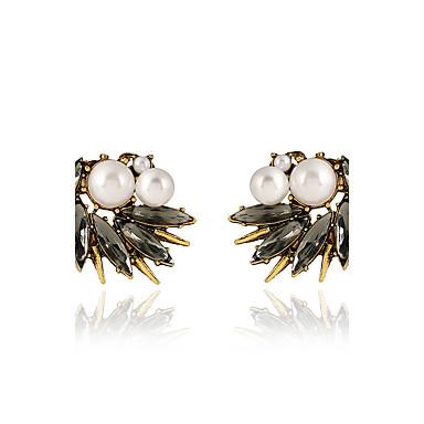 Damskie Kolczyki na sztyft Unikalny Kryształ Imitacja pereł Stop Biżuteria Impreza Specjalne okazje Codzienny Casual