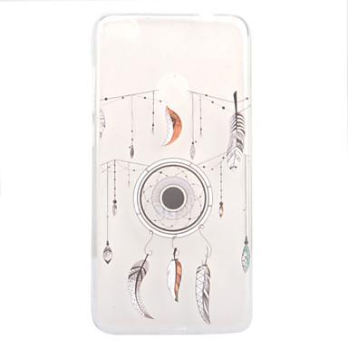 Varten Läpinäkyvä Kuvio Etui Takakuori Etui Unisieppari Pehmeä TPU varten Huawei Huawei P10 Lite Huawei P10 Huawei P8 Lite (2017)