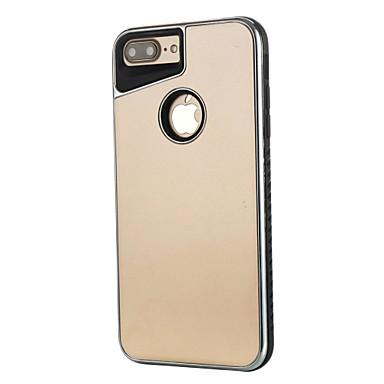 Pentru Placare Maska Carcasă Spate Maska Culoare solida Greu PC pentru AppleiPhone 7 Plus iPhone 7 iPhone 6s Plus iPhone 6 Plus iPhone 6s