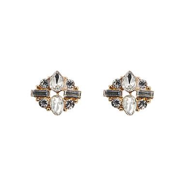Γυναικεία Κουμπωτά Σκουλαρίκια Βασικό Μοντέρνα Λατρευτός Εξατομικευόμενο Euramerican Στρας Κοσμήματα Κοσμήματα Για Γάμου Πάρτι Ειδική