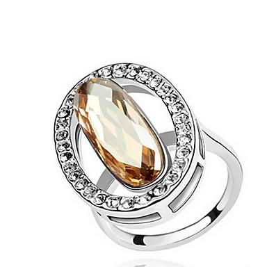 للمرأة خاتم مجوهرات مخصص أساسي euramerican في الأحجار الكريمة الاصطناعية كروم أخرى مجوهرات حزب مناسبة خاصة هدية