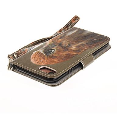 7 per 5s Per A Con iPhone Custodia supporto Plus 6s Resistente sintetica iPhone di Porta SE iPhone Integrale Plus 7 Animali credito iPhone carte portafoglio 05733285 pelle 4I4pBqx