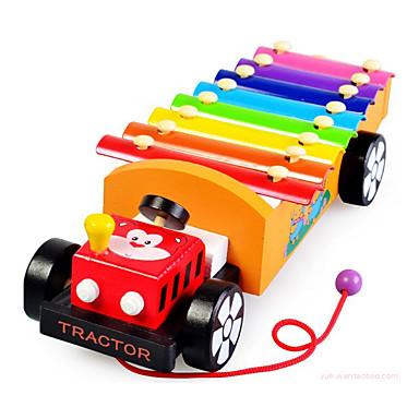 إكسيليفون لعبة سيارات أحجار البناء بيانو ألعاب تربوية قطار آلات موسقية آلعاب ألعاب Train بيانو أدوات الموسيقى شاحنة لهو للأطفال 200 قطع