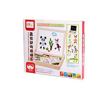 Παιχνίδι σχεδιασμού Παιχνίδια Tablet σχεδιασμού Παζλ Εκπαιδευτικό παιχνίδι Παιχνίδια Ζώα Μαγνητική Παιδικό Παιδικά 1 Κομμάτια