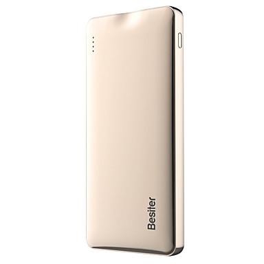 10000mAhBank zewnętrznego zasilania baterii QC 2.0 Wiele wyjść z kablem Automatyczne dopasowanie do natężenia 10000 2400/1000QC 2.0 Wiele