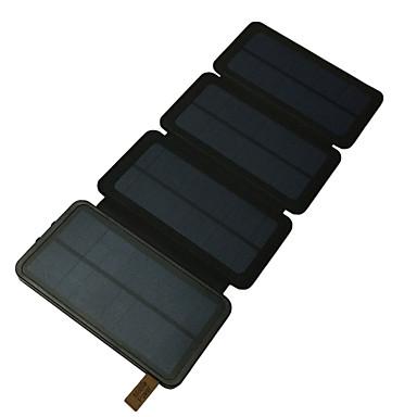 Εξωτερική μπαταρία τροφοδοσίας 5V # Φορτιστής μπαταρίας Φακός / Πολλαπλοί έξοδοι / Ηλιακή φόρτιση LED
