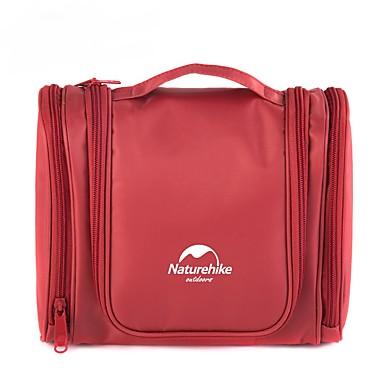 حقيبة أدوات تجميل للسفر حقيبة مستحضرات التجميل منظم أغراض السفر مقاوم للماء المحمول سعة كبيرة تخزين السفر إلى ملابس نايلون / للرجال للمرأة
