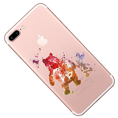 per Fantasia Per iPhone 8 Morbido iPhone iPhone Custodia Transparente X Apple iPhone 8 X disegno animati TPU Per Plus 05689311 retro Cartoni X0BnXxZq