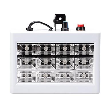 U'King 15W Oświetlenie sceniczne LED 3D Łatwa instalacja Aktywacja za pomocą dźwięku Zimna biel AC110-240