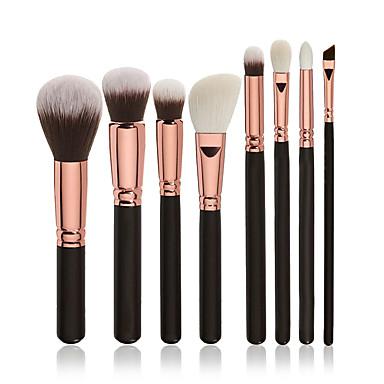 8kpl ammattilainen Makeup Harjat Brush Lavastus / Poskipunasivellin / Luomivärisivellin Synteettinen tukka Ammattilais / Täysi kattavuus