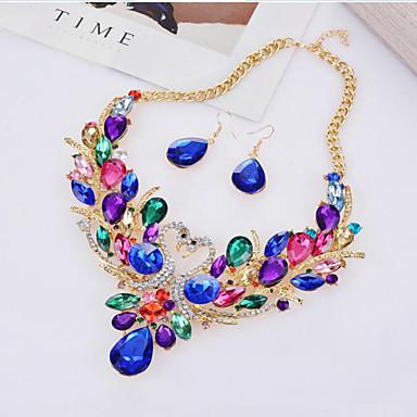 Pentru femei Set bijuterii 1 Colier 1 Pereche de Cercei - Modă Animal Curcubeu Seturi de bijuterii de mireasă Pentru Petrecere Ocazie