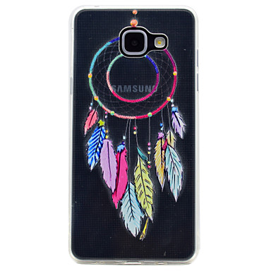 hoesje Voor Samsung Galaxy A5(2017) A3(2017) Transparant Patroon Achterkantje Dromenvanger Zacht TPU voor A3 (2017) A5 (2017) A7 (2017)