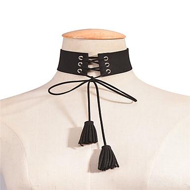 Damskie Inne Circle Shape Spersonalizowane Frędze Korygujący euroamerykańskiej Wyrazista biżuteria Modny Europejski Naszyjniki choker