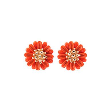 Pentru femei Cercei Stud Cristal Personalizat Floral Stil Floral Flori Modă Euramerican Floare Bijuterii Pentru Nuntă Petrecere Zi de