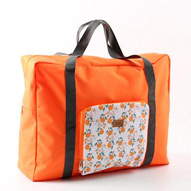 حقيبة صغيرة للكتف منظم أغراض السفر المحمول قابلة للطى تخزين السفر إلى ملابس نايلون / للرجال للمرأة السفر
