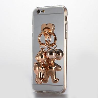 Na Lustro DIY Kılıf Etui na tył Kılıf Kreskówka 3D Twarde Akrylowy na AppleiPhone 7 Plus iPhone 7 iPhone 6s Plus iPhone 6 Plus iPhone 6s